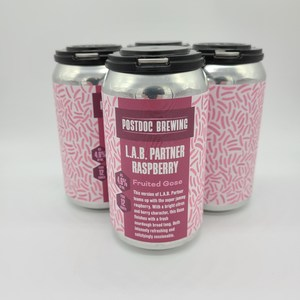 L.A.B Partner with Raspberries - 4pk 12oz Cans